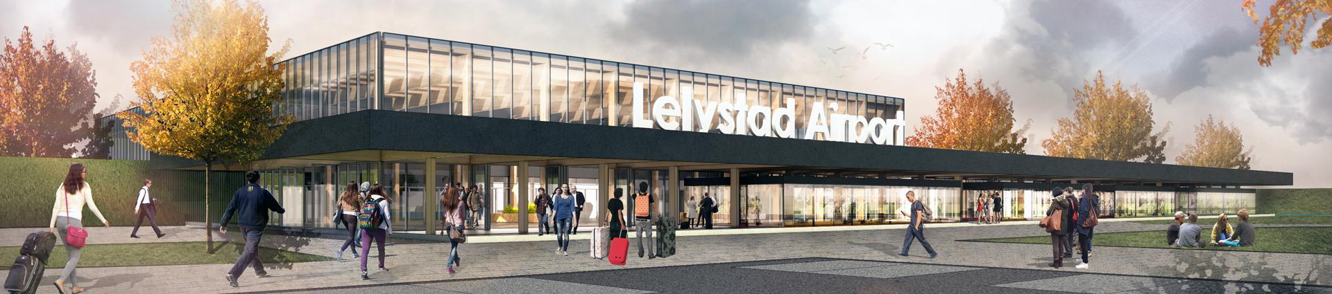 Terminal Lelystad Airport